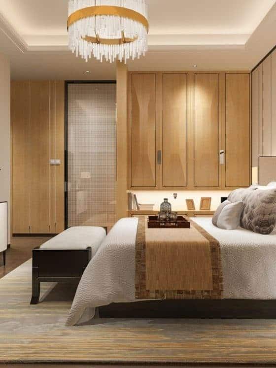 Modern bedroom Interior Designers In Goa