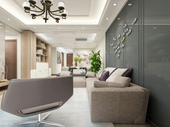 Scandinavian Style living decor